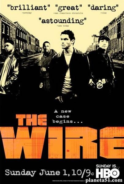Прослушка (1-5 сезоны: 1-60 серий из 60) / The Wire / 2002-2008 / ПМ (FoxCrime) / DVDRip