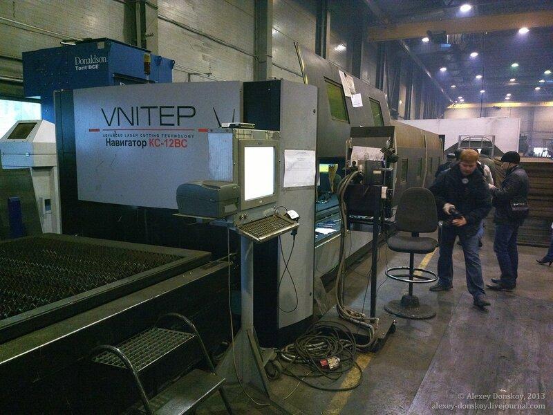 Лазерный станок для раскроя листового материала