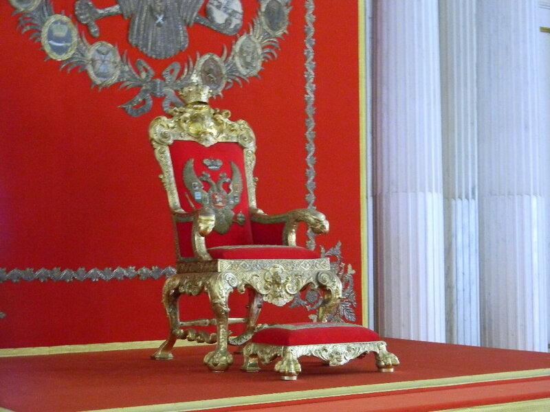 тронный зал Эрмитаж