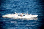 Через Тихий океан на весельной лодке 2014