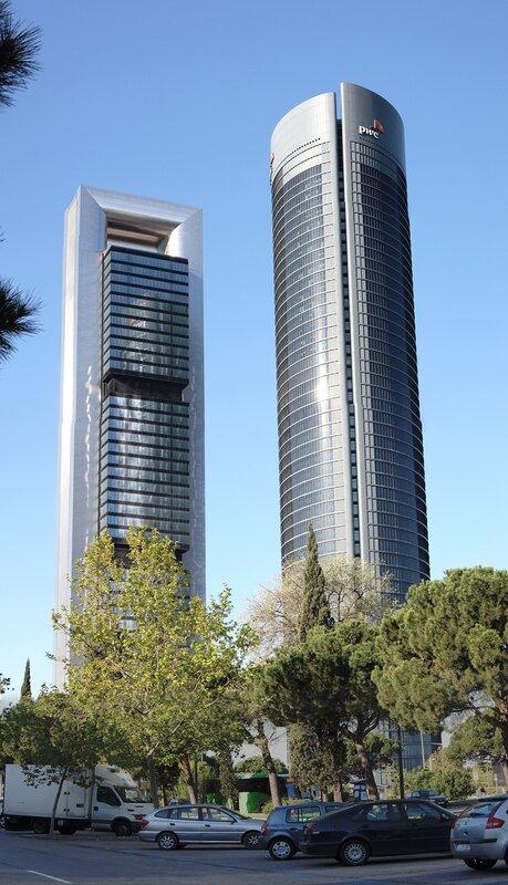 Мадрид. Деловой квартал Четыре башни (Cuatro Torres Business Area, CTBA)