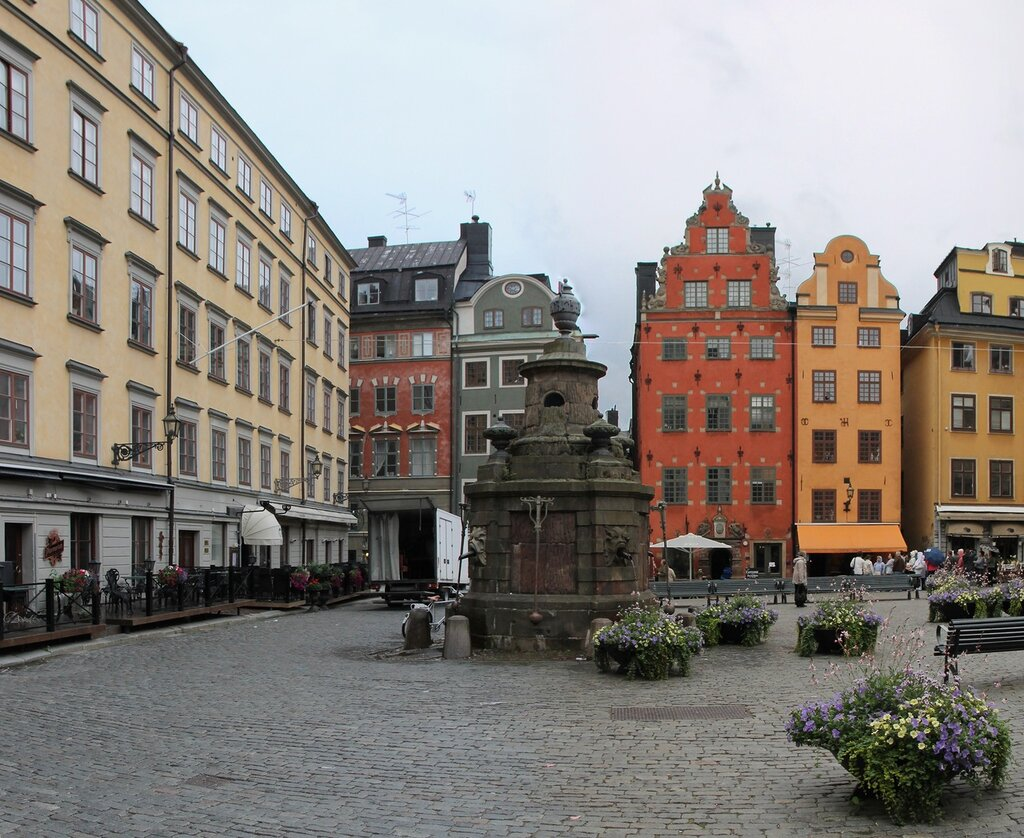 Stockholm, Stortorget square