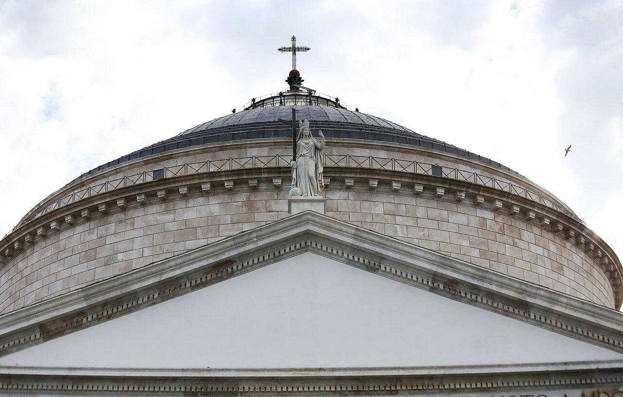 Naples. The Royal Basilica of San Francesco di Paola (Basilica Reale Pontificia San Francesco di Paola)