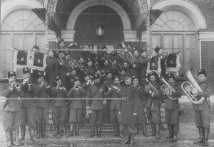 Хор трубачей Лейб-гвардии казачего полка.