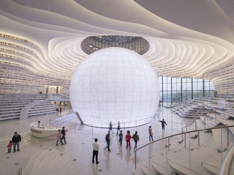 В Китае открылась библиотека на миллион книг