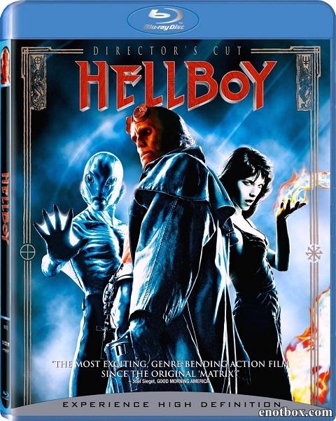 Хеллбой: Герой из пекла / Hellboy (2004/HDRip)