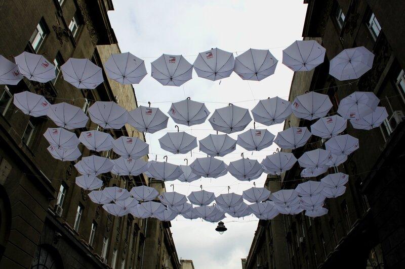 Зонты в Пассаже