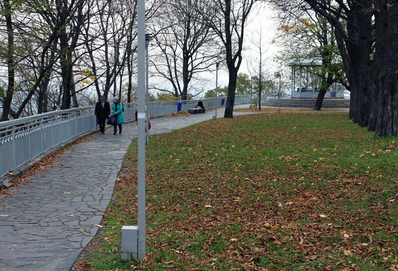 Владимирская горка осенью