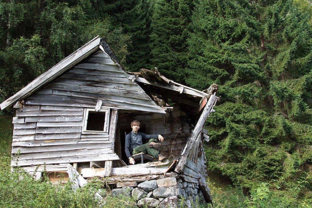 Заброшенный дом в Норвегии