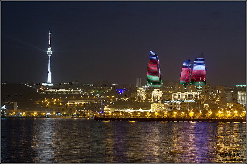 центр Баку