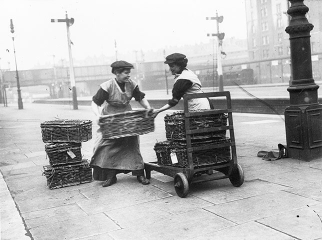 Members of the Women Porters At Marylebone Station Group