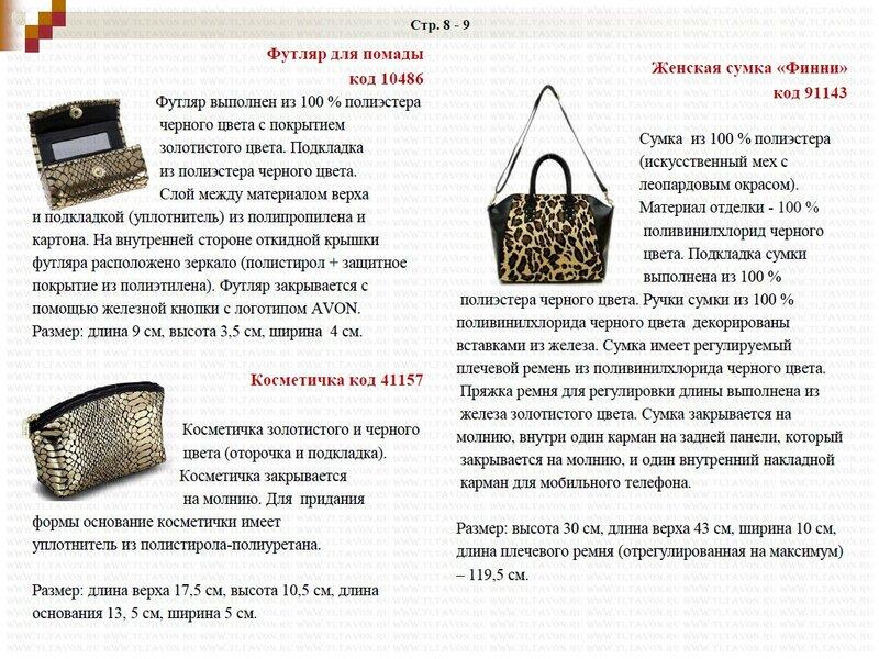Подробное описание новинок каталога 15/2013_002