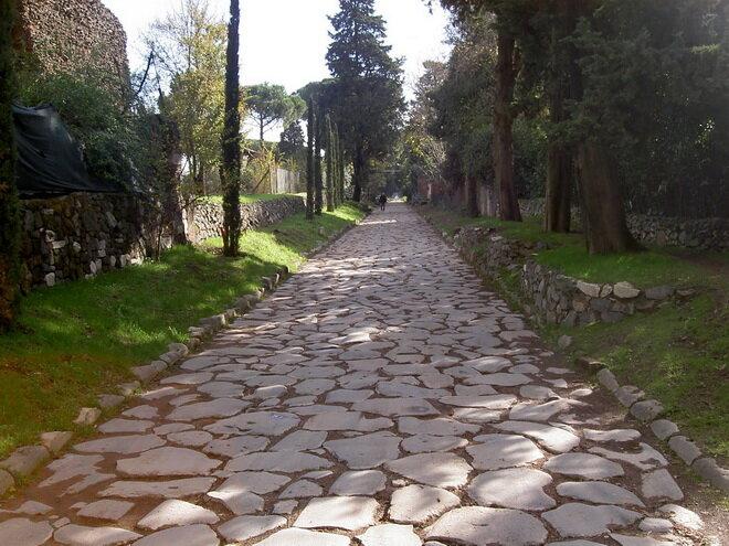 Аппиева дорога. Италия