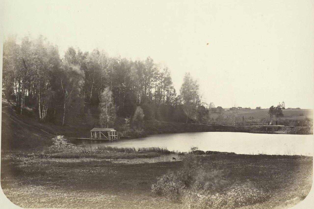 37. Сельская местность вдоль Николаевской дороги между Химками и Клином