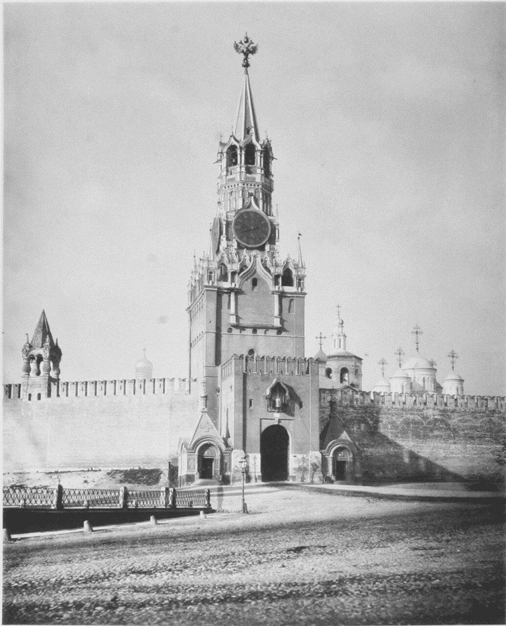 Спасская башня 1883 г.