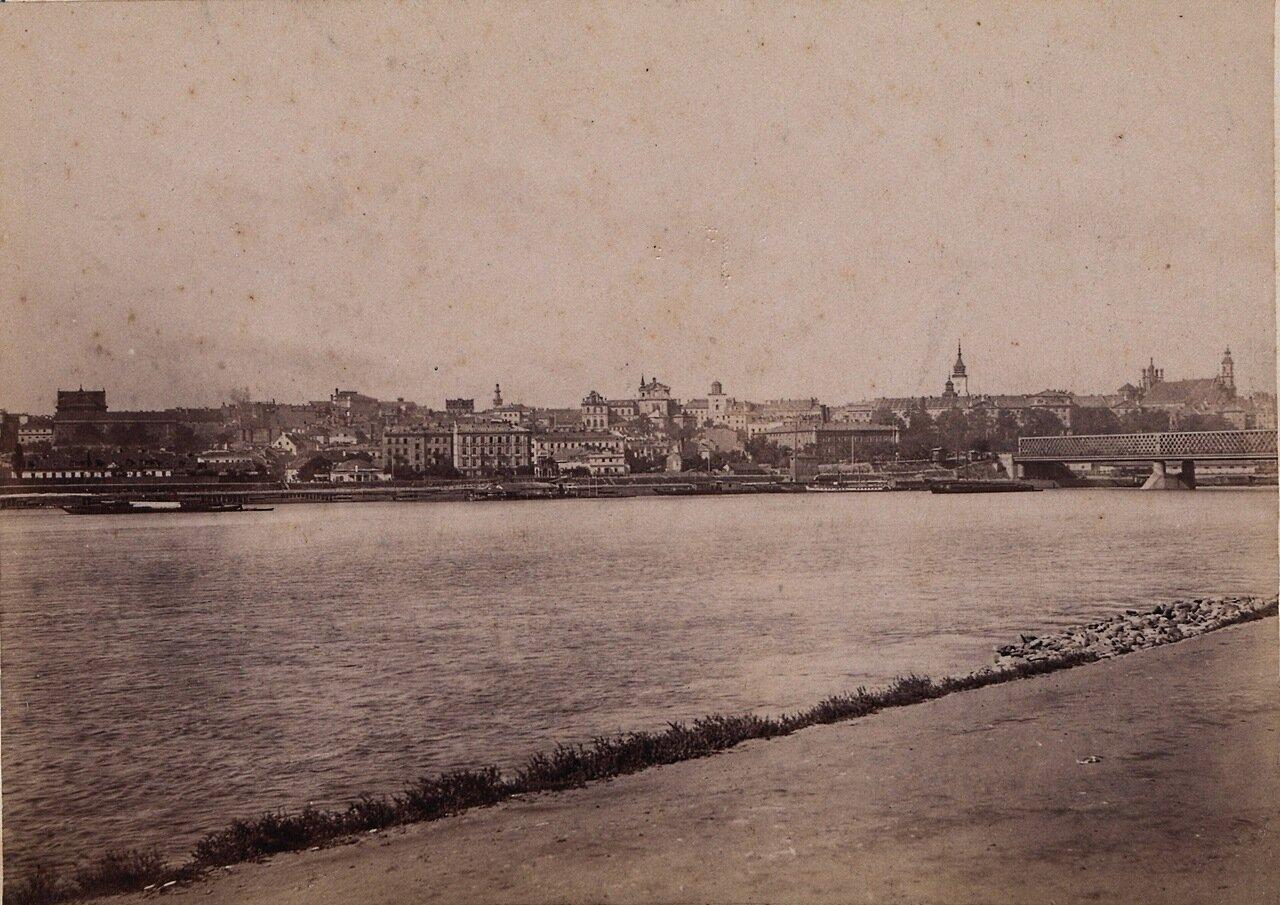 Панорама Варшавы 1890-е.
