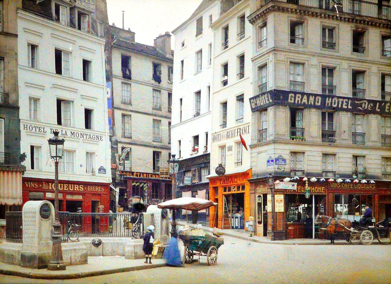 Улица Монтань-Сент-Женевьев