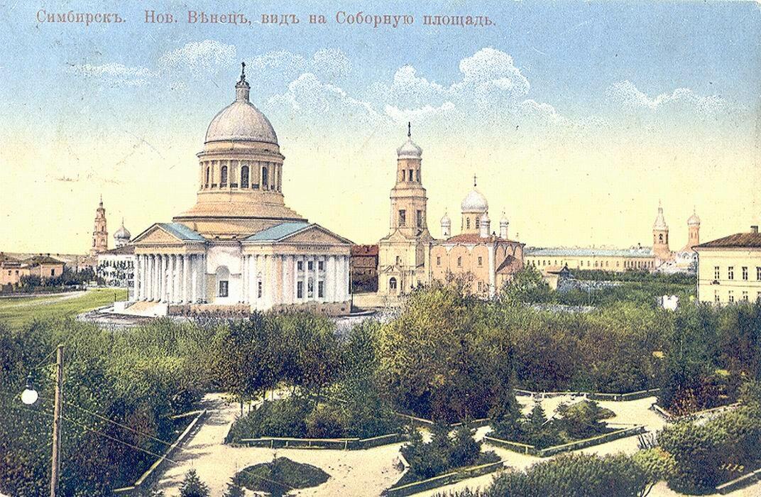 Новый Венец, вид на Соборную площадь