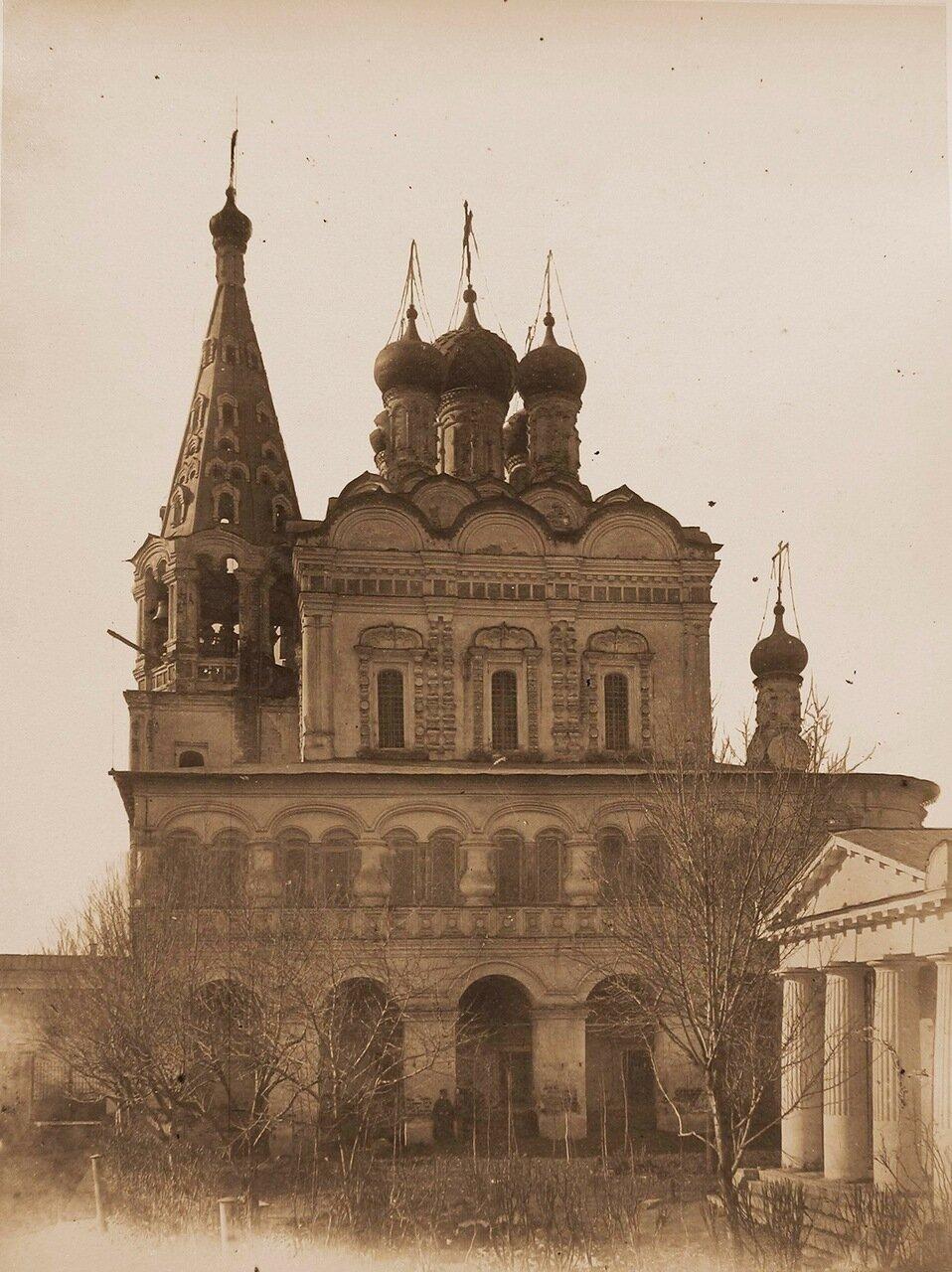 Вид южного фасада церкви Николая Чудотворца что у Столпа в Армянском переулке