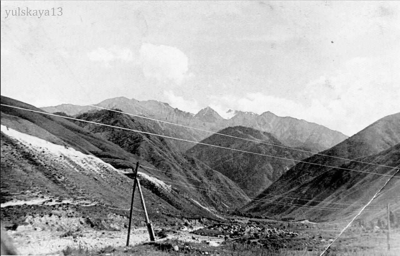 33. Ущелье Средний Талгар. Спуск в Алма-Ату