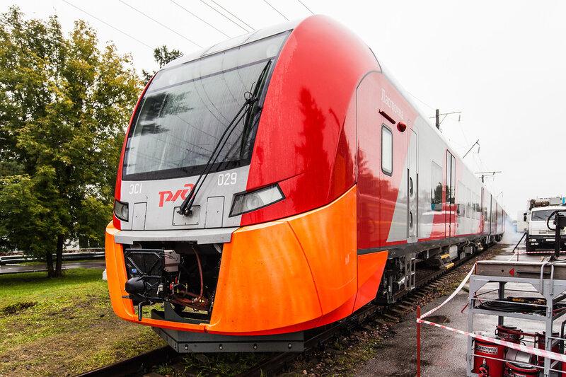 Новый электропоезд ЭС1 «Ласточка»