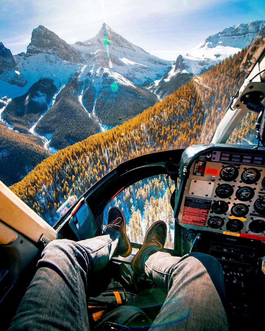 Красивые горные фотографии Майкла Блока