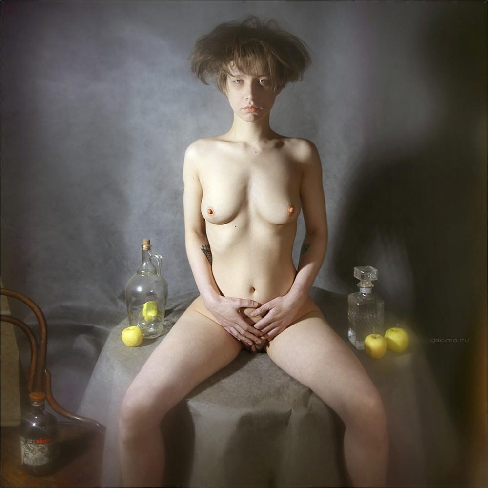 Снимки в жанре «Ню» Дмитрия Акимова