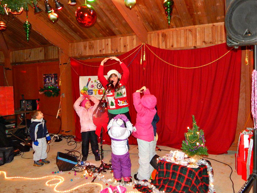 Рождественское световое шоу