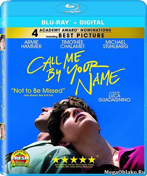 Зови меня своим именем / Call Me by Your Name (2017/BDRip/HDRip)