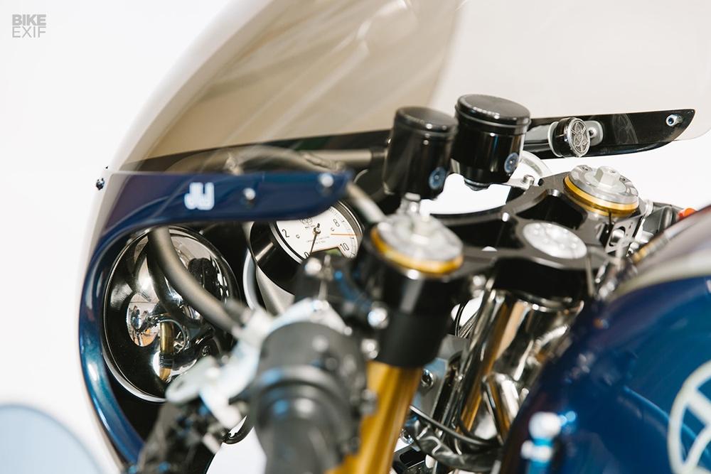 Уолт Сигл: кафе рейсер Ducati Leggero для Джейми Уотерса