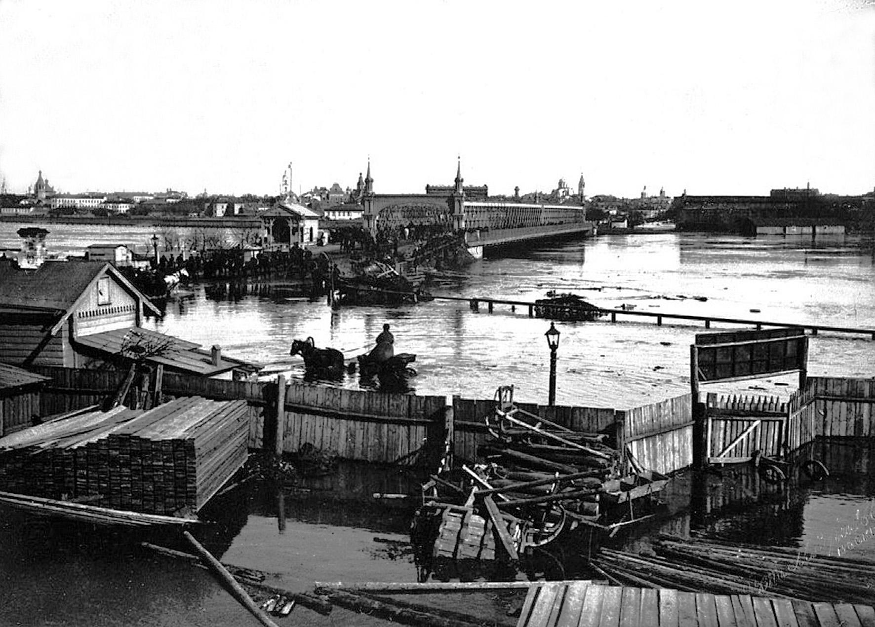 Крымский мост. 1908