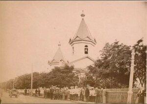 1894. Церковь Святителя Николая Чудотворца в посту Корсаковском