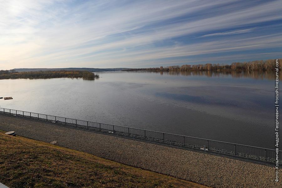 Река Вятка. Вид с правого берега реки от Вятских Полян