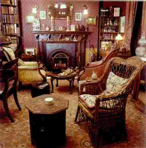 Кабинет Шерлока Холмса.