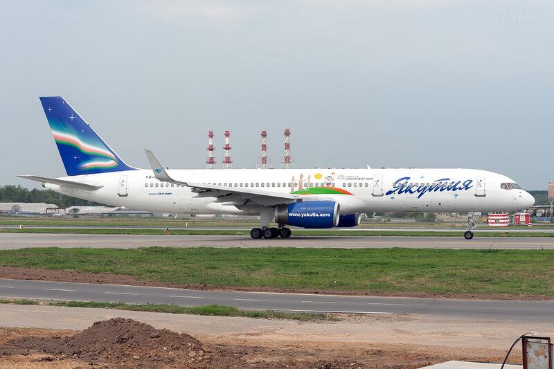 Boeing 757-256 (VQ-BCK) Якутия DSC_1594