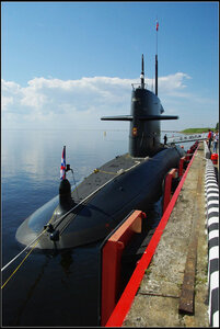 Zr.Ms. Dolfijn. Международный военно-морской салон. Санкт-Петербург 2013.
