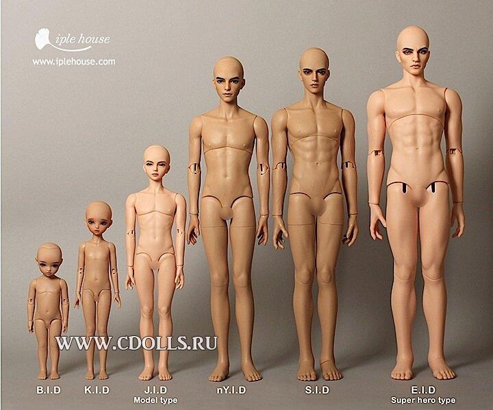 фото голых кукол
