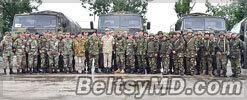 Военные из Молдовы и Румынии проводят совместные учения