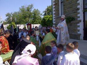 """Hramul mănăstiri """"Sfînta Treime"""" din satul Glinjeni"""