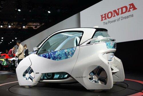 Honda продемонстрировала конкурента Renault Twizy