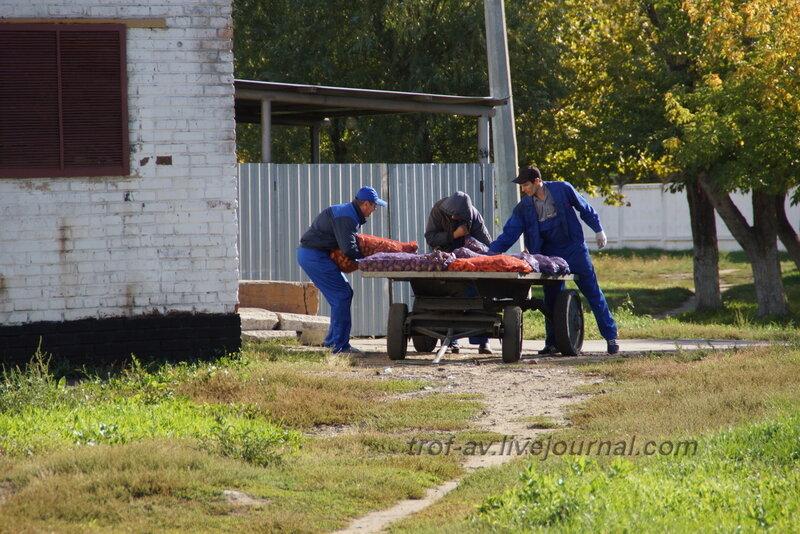 ОТИИ, День танкиста-2012, наряд по столовой уже не тот..., Омск