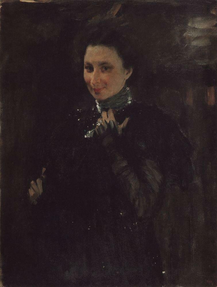 Портрет М.К.Олив. 1895.jpg