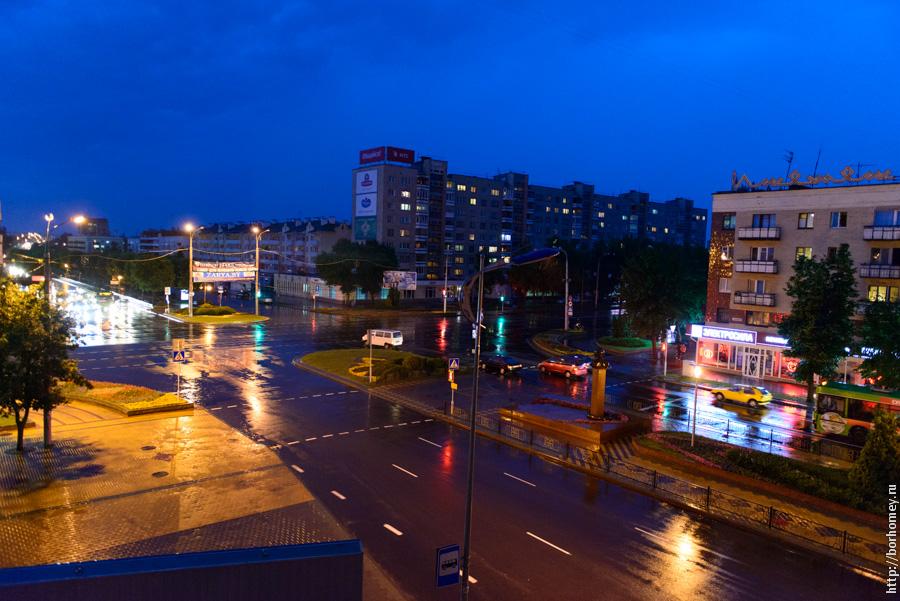 бульвар космонавтов и улица машерова в бресте