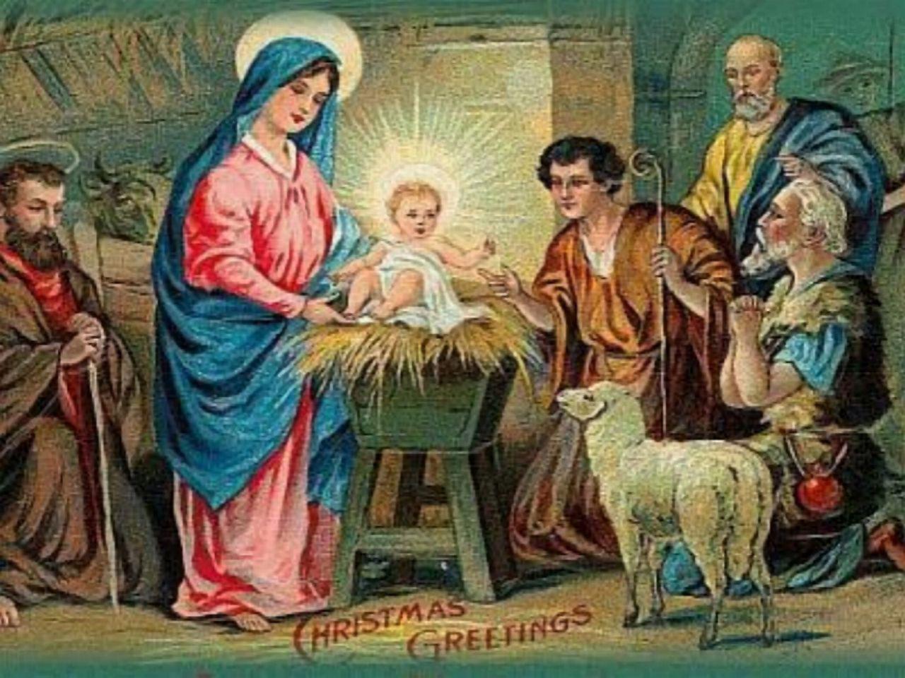 Ночь Рождества открытки фото рисунки картинки поздравления