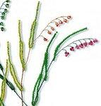Трава из бисера мастер класс с пошаговым
