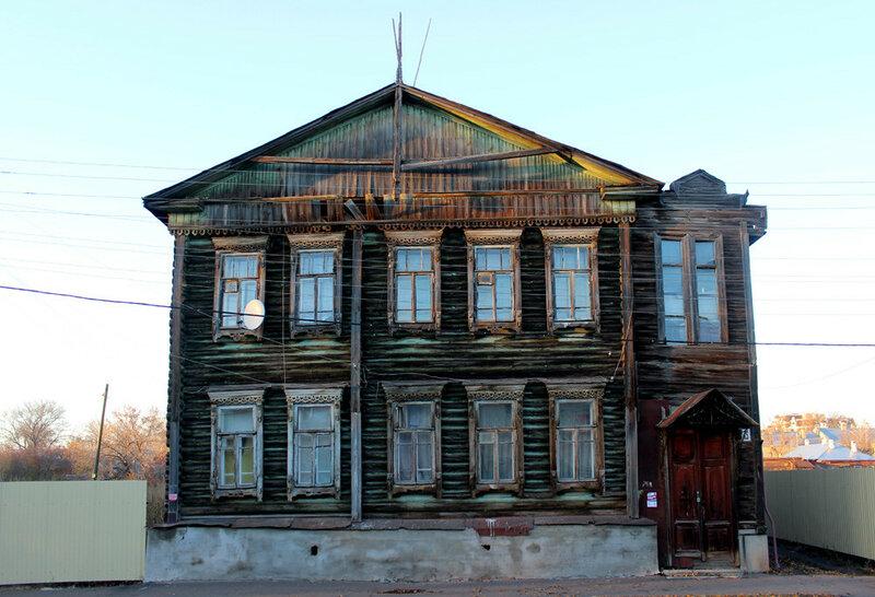 Дом А.М. Савостьянова. 6 ноября 2015 года