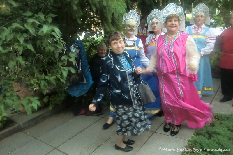 Фольклорный фестиваль 'Сиреневый рай', Саратов, 23 мая 2013 года