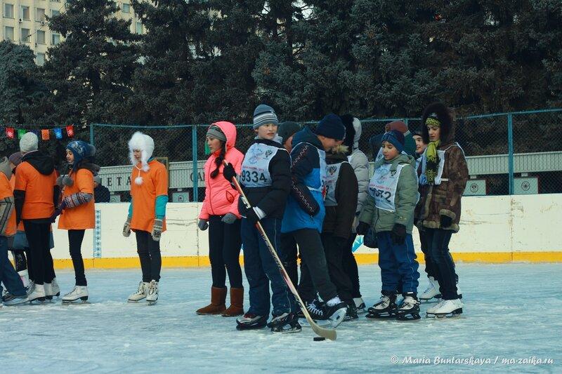 Открытие катка, Саратов, Театральная площадь, 13 декабря 2013 года