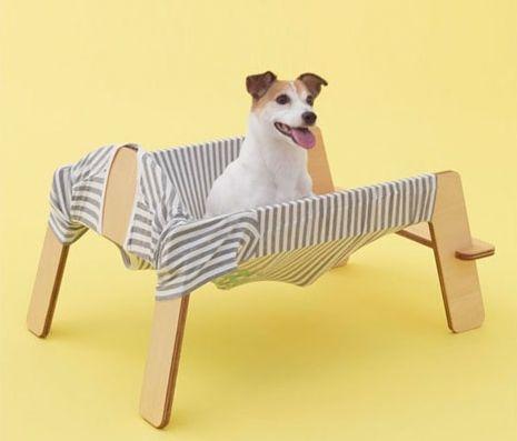 Гамак из картона для собак