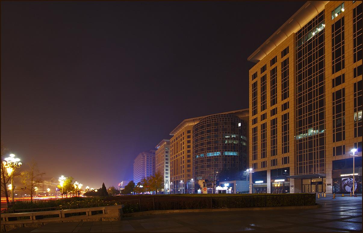 Вечер в Пекине
